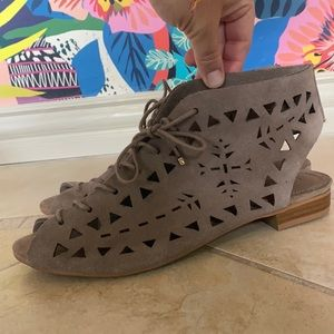Mia Open Toe Lace Up Gladiator Sandals NWOT
